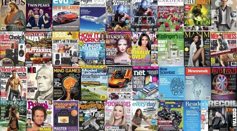 Assorted Magazines Bundle - March 25 201