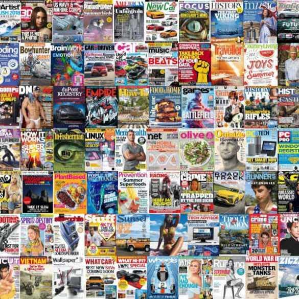 Assorted Magazines - June 15, 2018