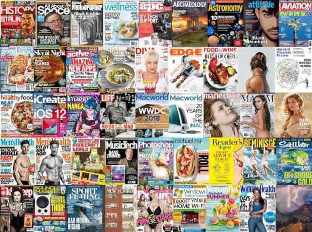 Assorted Magazines June 24 2018
