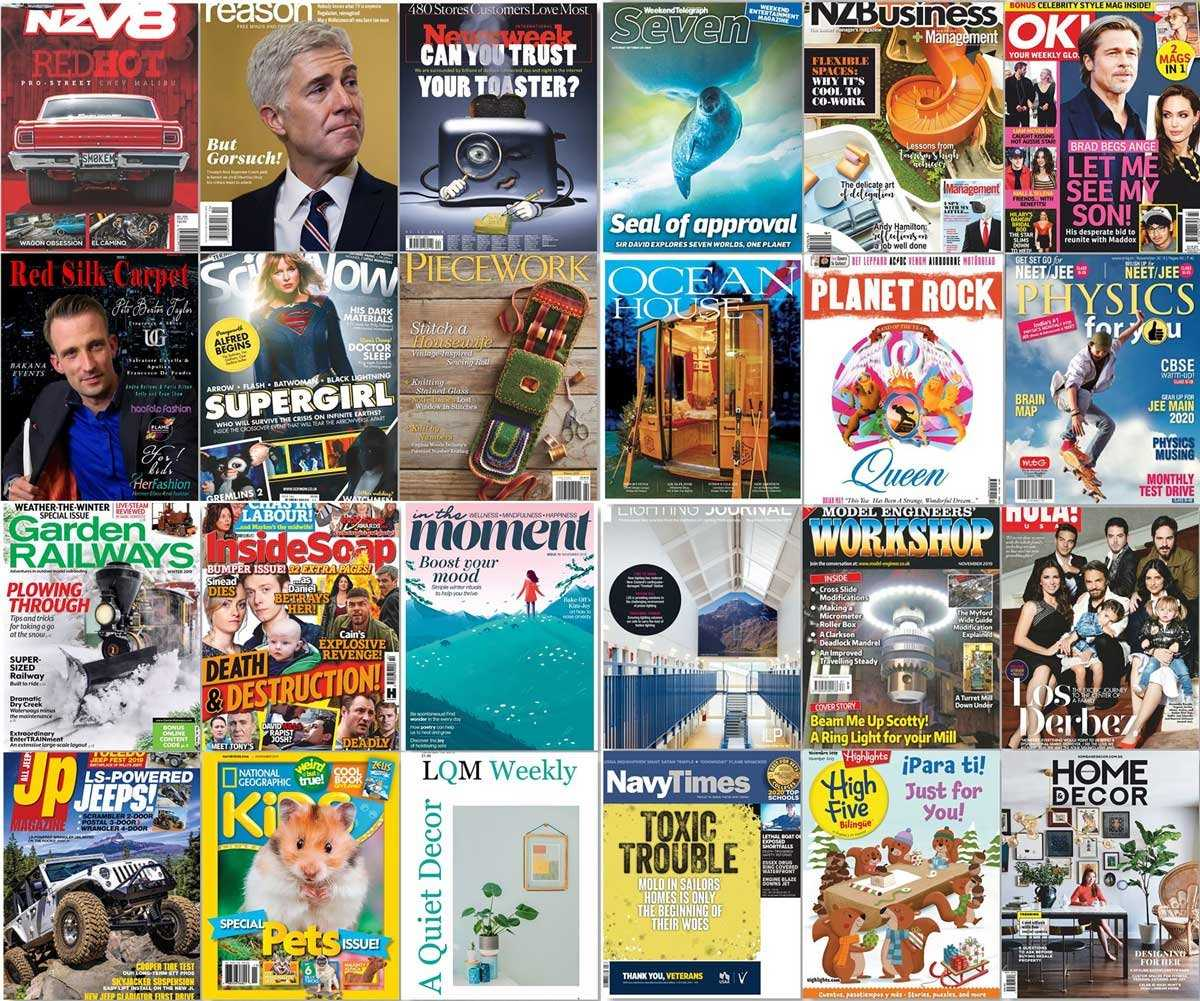 assorted magazines download