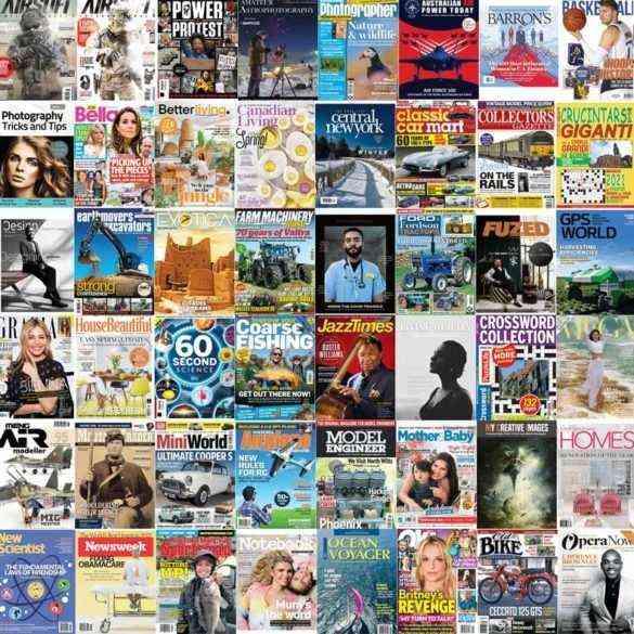 assorted magazines 2021